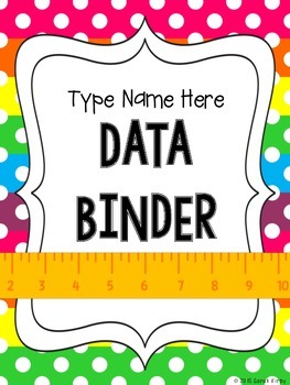 Teacher Data Binder Freebie