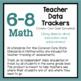 Teacher Data Trackers 6-8 Math