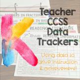 Teacher Data Trackers Kindergarten