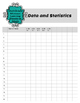 Teacher Data Tracking & Checklist Math Missouri Learning S