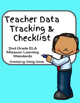 Teacher Data Tracking & Checklist ELA Missouri Learning St