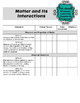 Teacher Data Tracking & Checklist Science Missouri Learning Standards 5th Grade