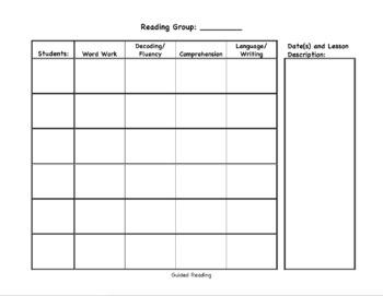 Teacher Data Tracking Notebook