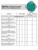 Teacher Data Tracking and Checklist ELA Missouri Learning Standards  3rd Grade