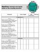 Teacher Data Tracking and Checklist ELA Missouri Learning