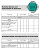 Teacher Data Tracking and Checklist Math Missouri Learning