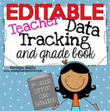 Teacher Data Tracking and Grade Book {3rd Grade Common Core ELA & Math}