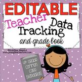 Teacher Data Tracking and Grade Book {4th Grade Common Core ELA & Math}