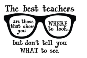Teacher Decal: Eyeglasses