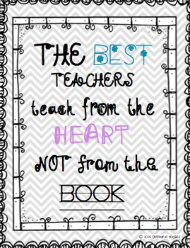 Teacher Decor Quote