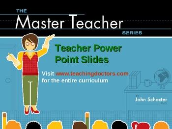 Teacher Descriptive Writing PowerPoint Lesson Slides