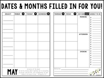 Teacher Devotional Planner {For the classroom + more!}