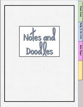 Digital Notebook/PDF GOODNOTES