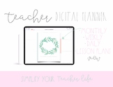 Teacher Digital Planner | Digital Planner | Ipad Planner | Goodnotes Planner |