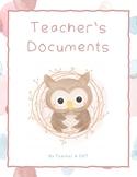 Teacher Documents