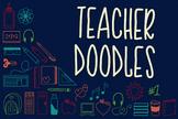 Teacher Doodles - A Dingbat Font