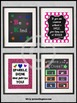 Classroom Door Sign and Motivational Quotes Set of 4 Inspi