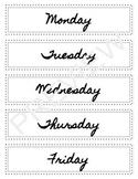 Teacher Drawer Labels