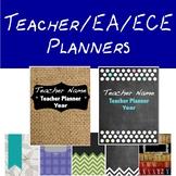Teacher Planner/ECE Planner/EA Planner Book