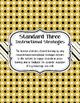 Teacher Effectiveness Keys (TKEs) Binder in Black and Gold Polka Dots