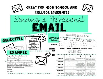Graphic Organizer for Teacher Email Addresses