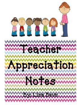 Teacher Encouraging Notes