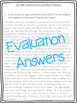 Teacher Evaluation Answers (Sample responses after being formally observed!)