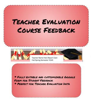 Teacher Evaluation Course Feedback Google Form