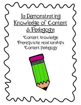 Teacher Evaluation Portfolio Template (Danielson)