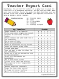 Teacher Evaluation for Students!