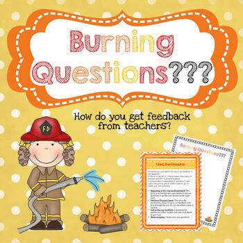 Teacher Feedback - Burning Questions