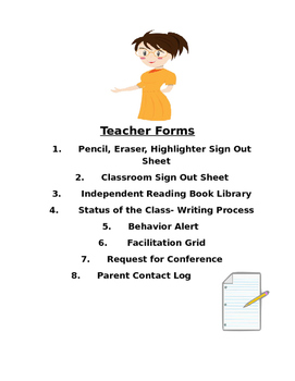 Teacher Forms