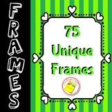 Borders and Frames  - Bright Colors - Unique Designs