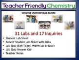 Chemistry Lab Bundle: Teacher Friendly Labs Activities PDF