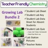 Growing Chem Lab Bundle: More Teacher Friendly Labs PDF/Word 29 Labs 27 Inquiry