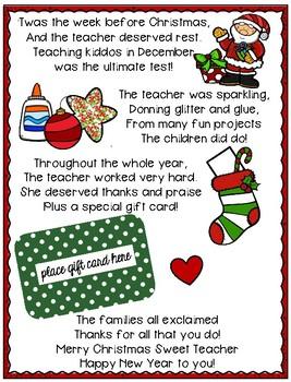 Teacher Gift by Polka Dots Please   Teachers Pay Teachers