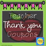 Teacher Gift Coupons