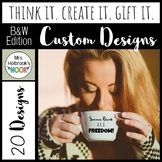 Teacher Gift Designs - Personalize Your Gifts!
