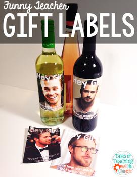 Teacher Gift Labels