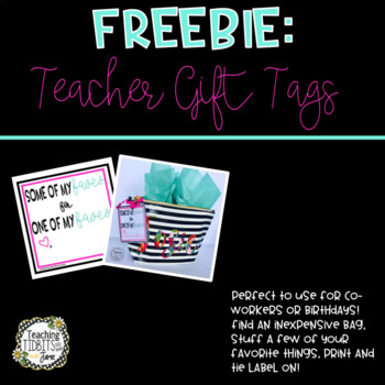 Teacher Gift Tag