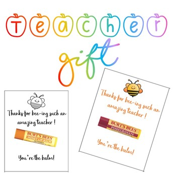 image about You're the Balm Teacher Free Printable known as Youre The Balm Worksheets Education Elements TpT