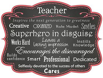 Teacher Gift:  A High Res Print or Poster for Teacher Appreciation Gift