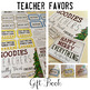 Teacher Goodies Gift Book FREEBIE