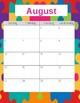 Teacher Gradebook & Agenda (Autism Hearts Puzzle)