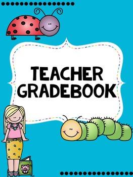 Teacher Gradebook- EDITABLE- Insect