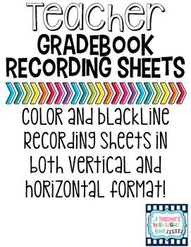 gradebook paper teaching resources teachers pay teachers
