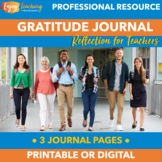 Teacher Gratitude Journal - Daily Reflections to Enhance Y