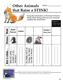 Teacher Guide: Tooter's Stinky Wish