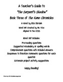 Teacher Guide for The Serpent's Shadow