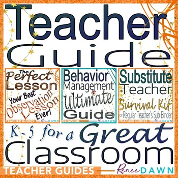 Teacher Guide - Perfect Lesson & Behavior Management BUNDLE